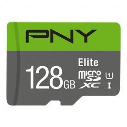 Micro Sd Pny 128Gb Elite Uhs-I C10 R100