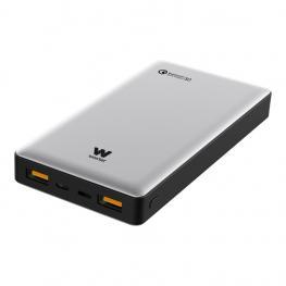 Powerbank Woxter Qc 16000 Mah Plata