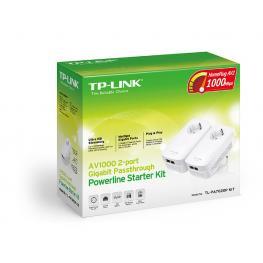 Powerline Kit Av1000 2 Puertos Gigabit, 1000 Mbps