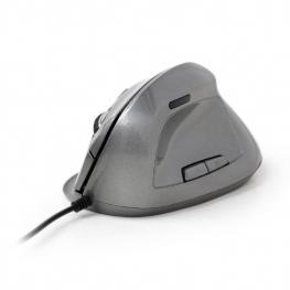 Raton Ergonomico Gembird Gris 6 Botones