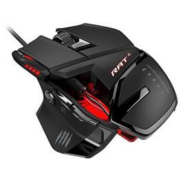 Raton Rat4 Optical Gaming Red