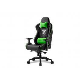 Silla Gaming Sharkoon Skiller Sgs4 Negro Verde 160º