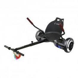 Silla Para Hoverboard Smartgyro Go-Kart Pro Negro