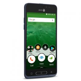Smartphone Doro 5 8035 Azul Boton Asistencia