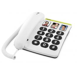 Telefono Fijo Doro Phone Easy 331Ph 1 Blanco