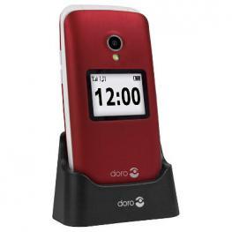 Telefono Movil Senior Doro 2424 2,4 Rojo T3Mpx