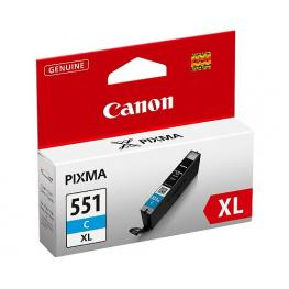 Tinta Canon Cli 551 Xl Cian Mg6350 Mg5450