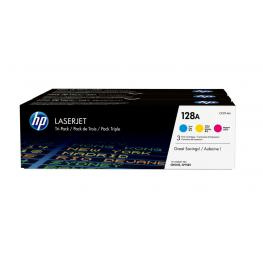Toner Hp 128A - Pack 3 Coloress