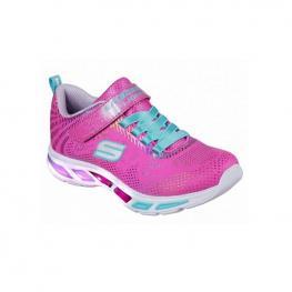 Zapatillas Skechers Litebeams-Gleam 10959L - Neon Pink Mesh/multi Foil