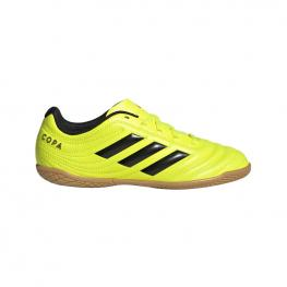 Zapatillas Adidas Copa 19.4 In J F35451 - Syello/cblack/syello