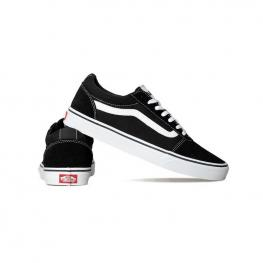 Zapatillas Vans Mn Ward Vn0A36Emc4R - (Suede Canvas) Black/whit