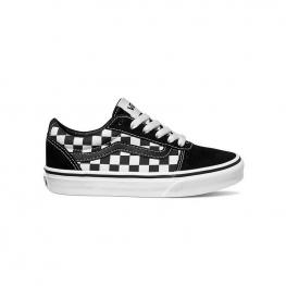 Zapatillas Vans Ward Vn0A38J9Pvj - (Checkered) Black/true Wh