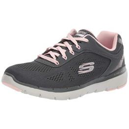 Zapatillas Skechers Flex Appeal 3.0 13059 - Charcoal Mesh / Duraleath