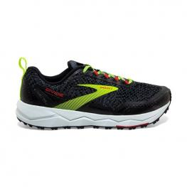 Zapatillas Brooks Divide 110333 - Black/ebony/red