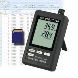 Termohigrómetro Registrador Pce-Ht 110