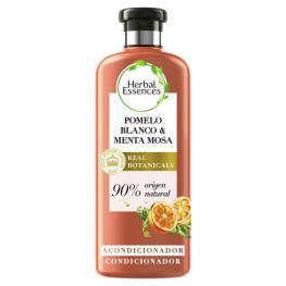 Acondicionador Volumen Pomelo Blanco & Menta Mosa Bío:renew Herbal Essences 400 Ml.