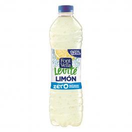 Agua Mineral Font Vella Levité Con Zumo de Limón Zero Azúcares Añadidos 1,25 L.