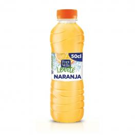 Agua Mineral Font Vella Levité Con Zumo de Naranja 50 Cl.