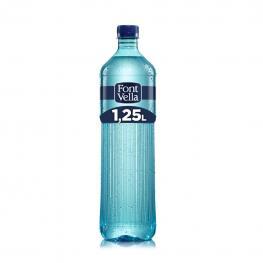Agua Mineral Font Vella Natural 1,25 L.