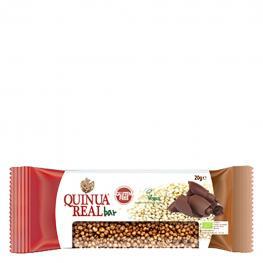 Barrita de Quinoa Con Chocolate Ecológica Quinua Real Sin Gluten 20 G.