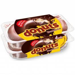 Berlinas Bombón Donuts Pack de 4 Unidades de 55 G.