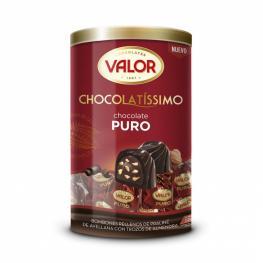 Bombones de Chocolate Puro Rellenos de Praliné de Avellana Con Almendra Valor 250 G.