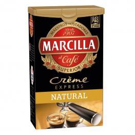 Café Molido Natural Créme Express Marcilla 250 G.