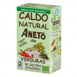 Caldo Natural de Verduras Ecológico Aneto Sin Gluten 1 L.