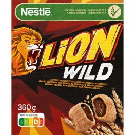 Cereales Con Chocolate y Caramelo Lion Nestlé 410 G