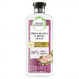 Champú Purificante Fresa Blanca & Menta Dulce Bío:renew Herbal Essences 400 Ml.