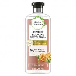 Champú Volumen Pomelo Blanco & Menta Mosa Bío:renew Herbal Essences 400 Ml.