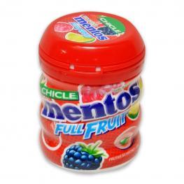 Chicles Sabor Frutas Silvestres Full Fruit Mentos 60 G.