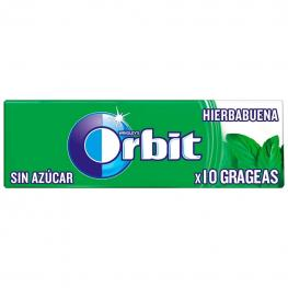 Chicles Sabor Hierbabuena Orbit  14 G.