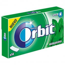 Chicles Sabor Hierbabuena White Orbit 14 Ud.