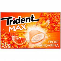 Chicles Sabor Mandarina Trident 20 G.