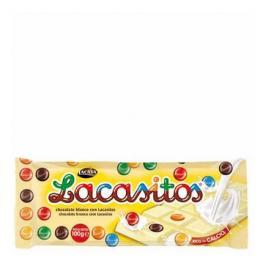 Chocolate Blanco Lacasitos Lacasa 100 G.