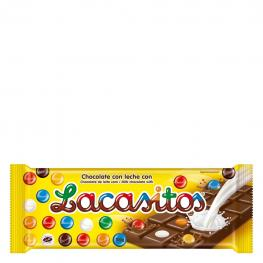 Chocolate Con Leche Lacasitos Lacasa 100 G.