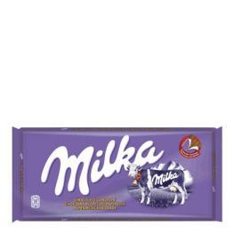 Chocolate Con Leche Milka 125 G.