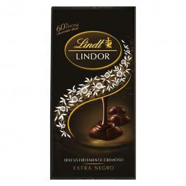 Chocolate Negro 60% Lindt Lindor 100 G.