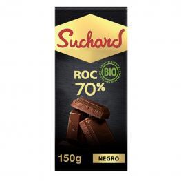 Chocolate Negro 70% Ecológico Suchard 150 G.