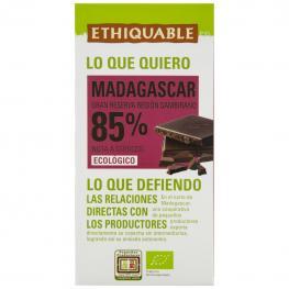 Chocolate Negro 85% Ecológico Ethiquable 100 G.
