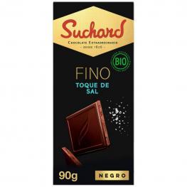 Chocolate Negro Al Toque de Sal Ecológico Suchard 90 G.