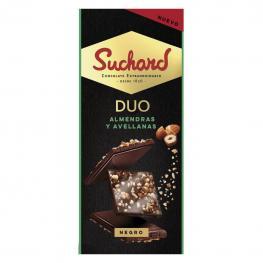 Chocolate Negro Con Almendras y Avellanas Suchard 103 G.