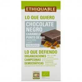 Chocolate Negro Con Caramelo Al Punto de Sal Ecológico Ethiquable 100 G.
