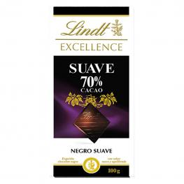 Chocolate Negro Suave 70% Lindt Excellence 100 G.
