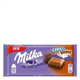 Chocolate Oreo Brownie Milka 100 G.