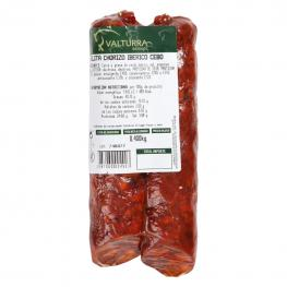 Chorizo Ibérico Cebo Velita Cárnicas Valturra Pieza 400 G Aprox