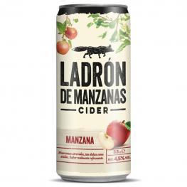 Cider Ladrón de Manzanas Lata 33 Cl.