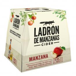 Cider Ladrón de Manzanas Pack de 9 Botellas de 25 Cl.
