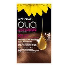 Coloración Permanente Nº 6.35 Rubio Caramelo Garnier Olia 1 Ud.